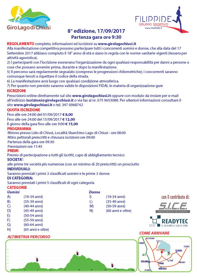 8° Giro Lago di Chiusi